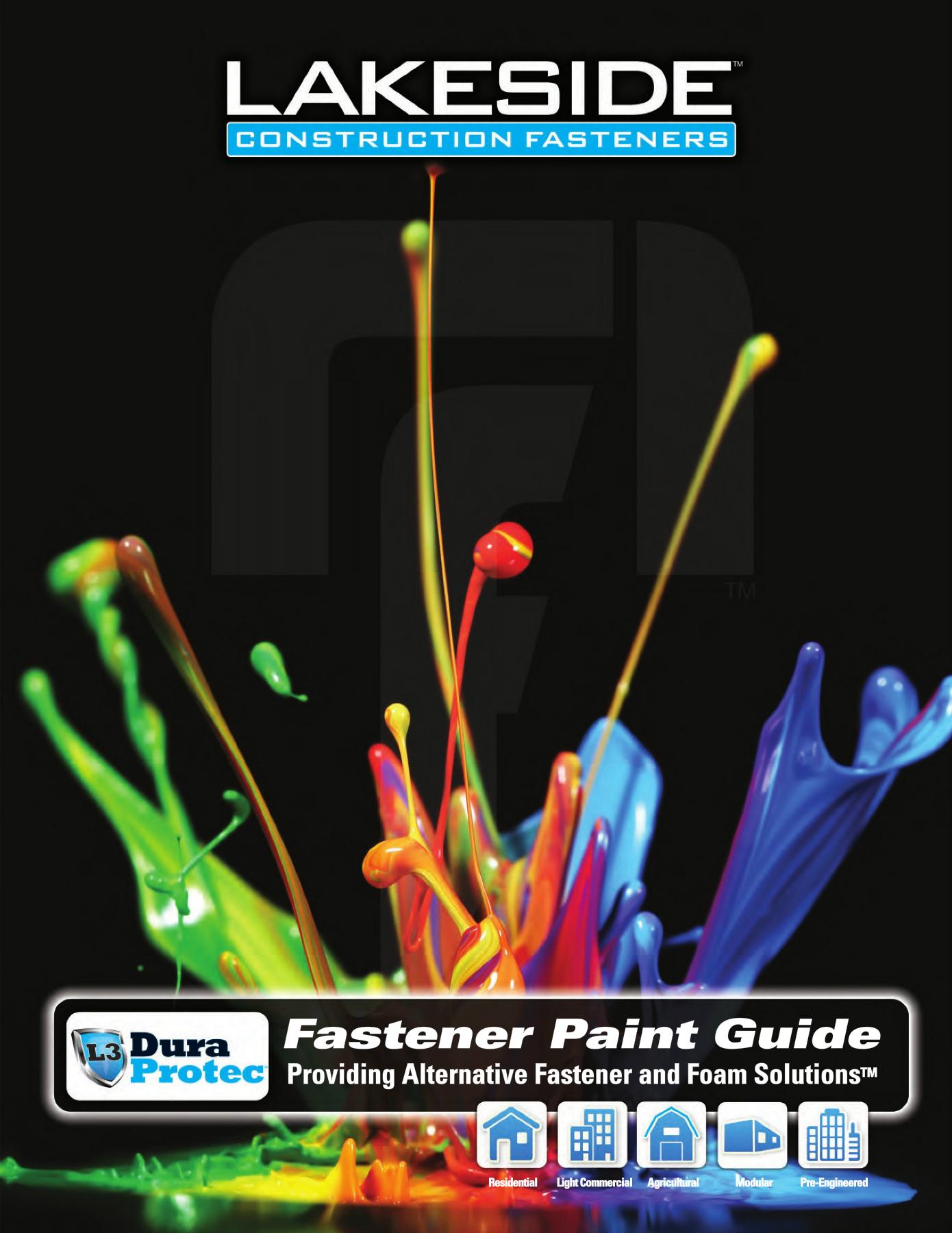 Lakeside Construction Fasteners 2018 Catalog