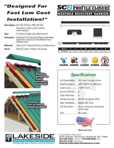 Page 43 - Lakeside Construction Fasteners 2018 Catalog