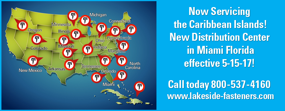 Lakeside Construction Fasteners - Caribbean Island Distribution Center