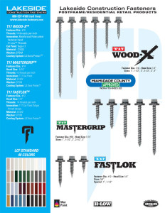 Lcf Downloads Lakeside Construction Fasteners