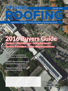 Florida Roofing Jan 2016