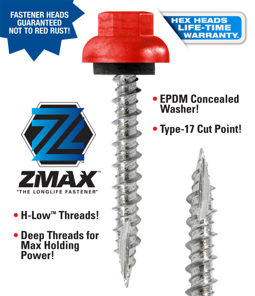 Lakeside Construction Fasteners Zmax Information