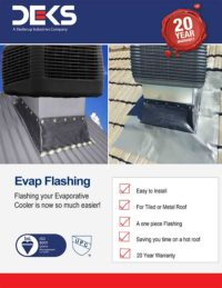 Lakeside Construction Fasteners - Deks Evap Flashing