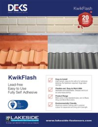 Lakeside Construction Fasteners - Deks KwikFlash