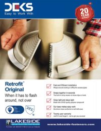 Lakeside Construction Fasteners - Deks Retrofit Original
