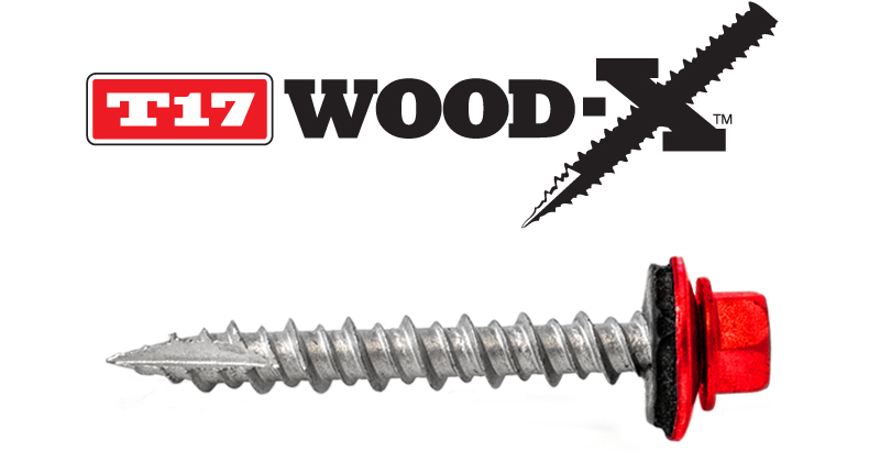 Lakeside Construction Fasteners - T17 Wood-X